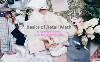 The Mathematics Of Retail Merchandising Entails Many Distinct Skills