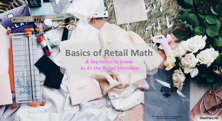 The Mathematics Of Retail Merchandising Entails Many Distinct Skills